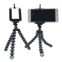 Mini Camera Phone Holder Flexible Sponge Octopus Tripod Bracket Stand Mount Monopod with Phone Holder For Samsung Iphone