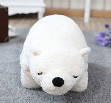 Polar bear plush doll about 70cm size Valentine's Day gift toy 1pc(China)