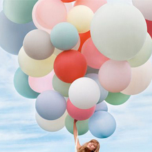 10pcs Gaint 36 Inches 90cm Balloon Ball Inflatable Big 36'' Latex Balloons For Wedding Birthday Party Decorations Favors