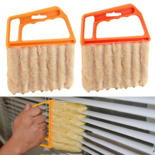 Microfibre Venetian Blind Blade Cleaner Window Conditioner Duster Clean Brush J2Y