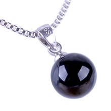 Fashion 2 Color Pendant Without Chain Diy Necklace Jewelry Accessoreis Color Black Red NL-0824