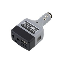 DC 12V/24V to AC 220V Charger Car Mobile Converter Inverter Adapter Power + USB YKS#(China)