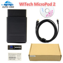 Newest V17.03.01 WITECH MicroPod 2 For Chrysler Diagnostic Tool Multi-Languages MicroPod2 Scanner Free Shipping