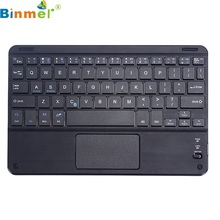 Beautiful Gift New Wireless Bluetooth Keyboard w/ Touchpad For All 7-10 inch Android Windows Tablet Wholesale price Jan06(China)