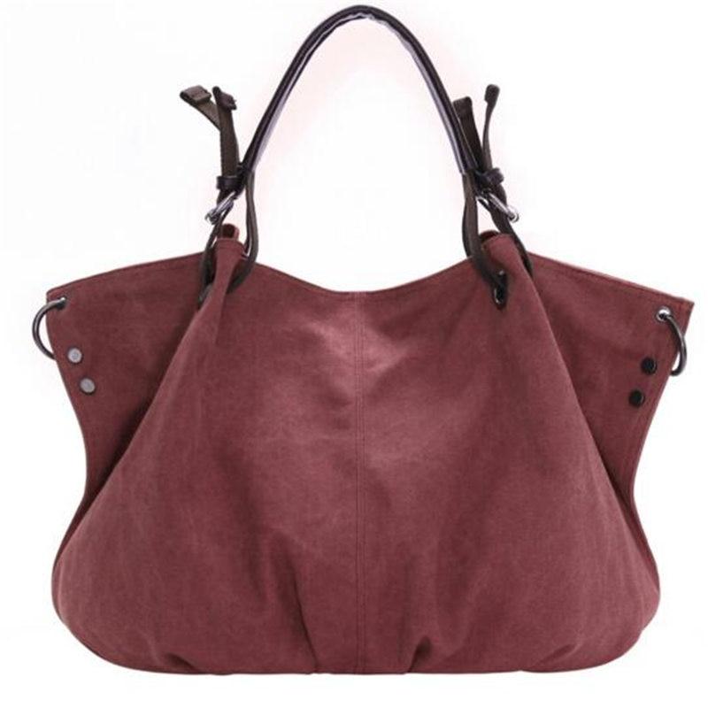 2017 Fashion Female Canvas Bag Big Size Handbag Womens messenger Bags Shoulder Bag large capacity female totes<br><br>Aliexpress