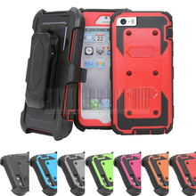 Heavy Duty Anti-Shock Future Armor Protective Case Cover+Holster With Belt Clip For Apple iphone 5/5s/SE/6/6 plus/6s/6s plus(China)