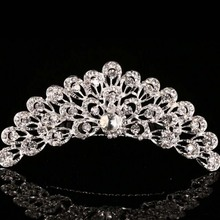 Child bride jewelry crown crown insert comb hair ornaments factory direct