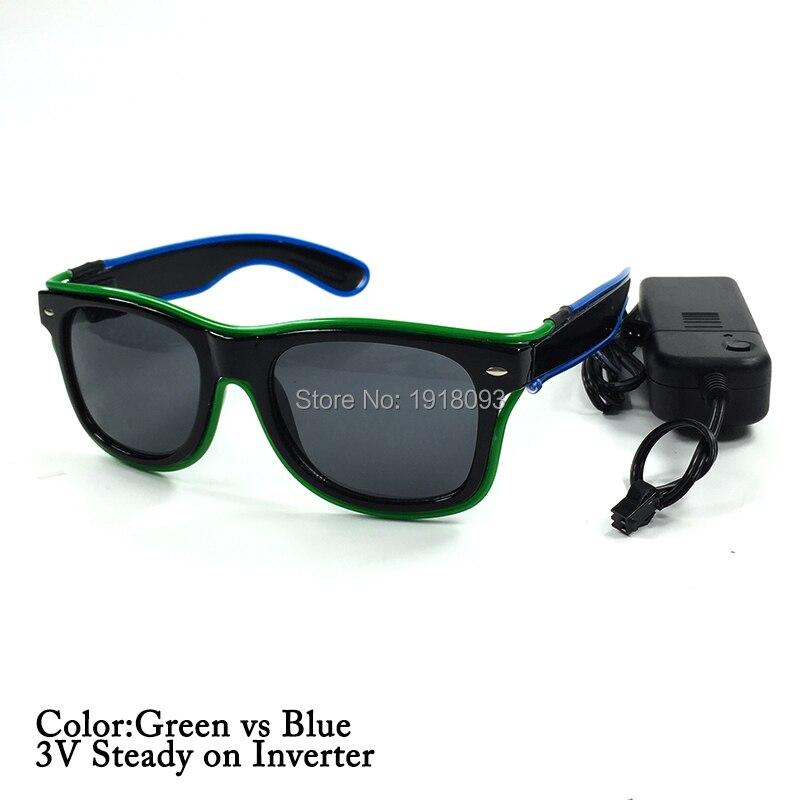 green blue