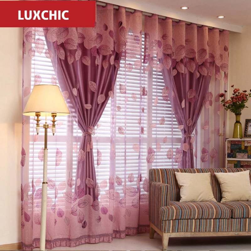 Window Curtains Set For Living Room Curtain Children Embroidered Voile The Bedroom Tulle
