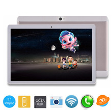 DHL Free Shipping 10 inch Tablet PC Octa Core 4GB RAM 32GB ROM Dual SIM Cards Android 5.1 GPS Tablet PC 10 10.1 +Gifts(China)