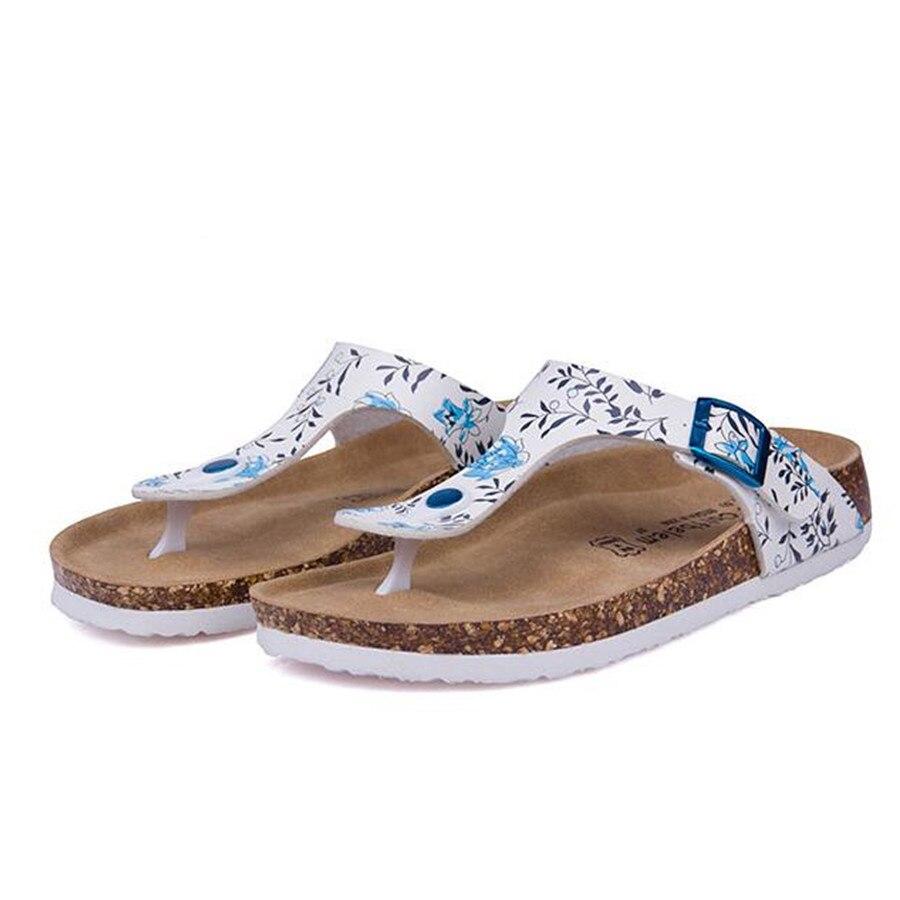 New Beach Cork Flip Flops Slipper 2017 Casual Summer Women Mixed Color Slip on Sandals Flat Shoe Free Shipping Plus Size<br><br>Aliexpress