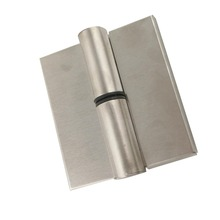 2pcs Stainless Steel Public Toilet Door Hinge Automatic Close for Restroom Patrition 2mm Thickness