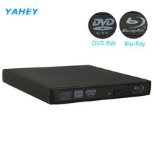 Bluray Player External USB 2.0 DVD Drive Blu-ray 3D 25G 50G BD-R BD-ROM CD/DVD RW Burner Writer Recorder for Laptop Computer PC