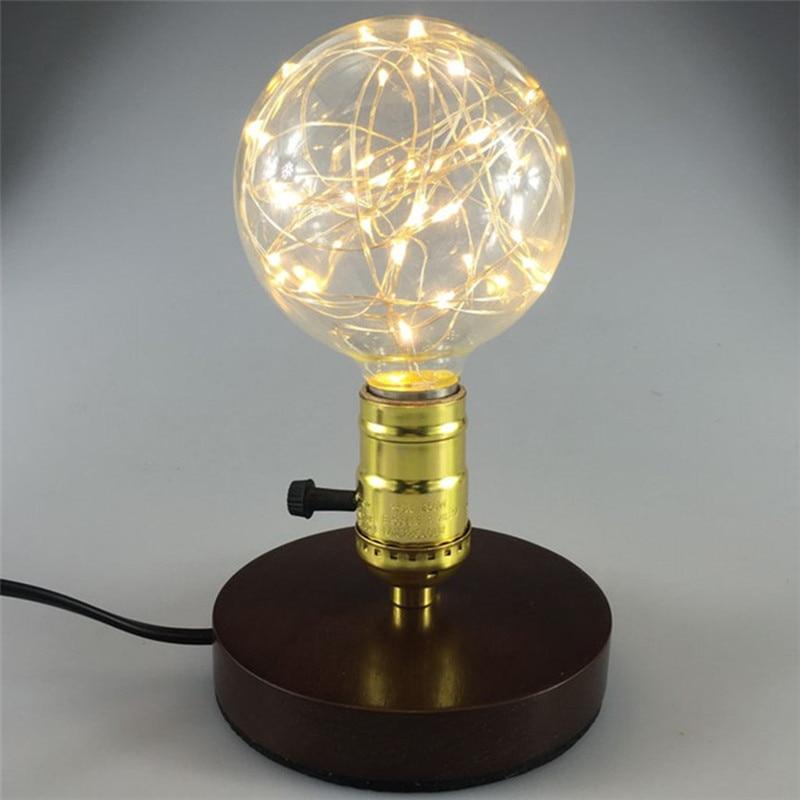 4pcs Holiday lights G95 LED bulb Christmas String light indoor E27 fairy light AC85-265V Warm White Edison Decorative lamp <br>