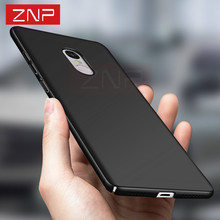 ZNP cover case for Xiaomi redmi note 4 4X Luxury Hard Highly quality Matte Full Cover cases For Xiaomi redmi note 4 4X phone bag