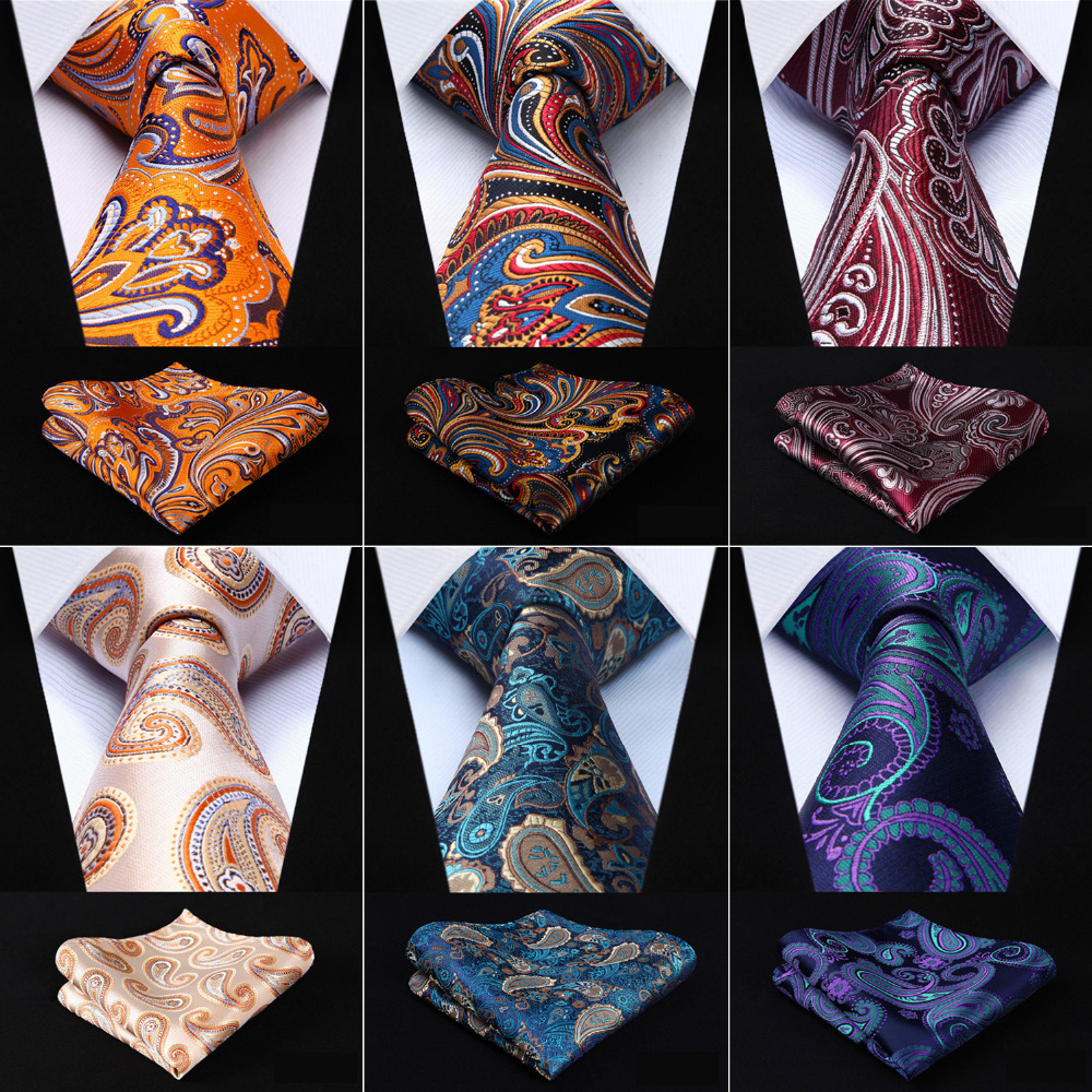 New Men/'s Polyester Woven pocket square hankie only navy blue paisley wedding