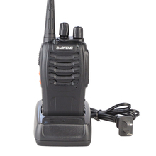 BaoFeng BF-888S Walkie Talkie Black UHF:400-470MHz Cheap Two Way Radio With Free Earpiece