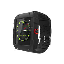 2017 1.54 inch squared screen new sport smart watch with digital sport model GPS tracking wriswatch for ios android(China)