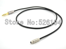 Free shipping 6.5mm Silver plate Headphone Upgrade Cable for K271 K272 K240 K242 K702 Q701 headphone cable
