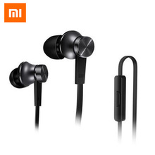 2017 Newes Xiaomi Mi Earphone Piston Fresh Version In-Ear 3.5mm AUX with Mic Wire Control for xiaomi for mobile phone Android