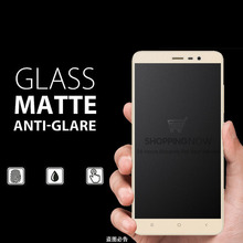 9H Frosted Tempered Glass Film For Xiaomi Redmi Note 2 3 Note2 Note3 Matte Screen Protector No Finger print Glass Protective