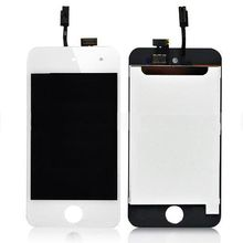 New LCD Digitizer Glass Touch Screen Assembly Replacement for iPod Touch 4th Gen 4G black white free shipping