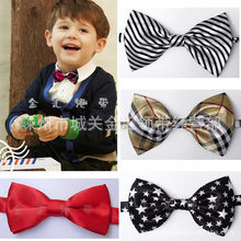 Fashion School Boys girls Children Kids Baby Wedding Elastic bow Tie Necktie Wedding Party Performance Accessorie 1pcs/lot LD09