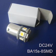 High quality 24V 1156 Freight Car Led Bulbs BA15s BAU15s P21W R5W PY21W 1141 Truck led lamps Turn Signals free shipping 2pcs/lot(China)