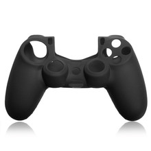 High Quality Special Offer Best Black Silicone Protective Skin Cover Case For SONY for PlayStation 4 For PS4 Game Controller(China)