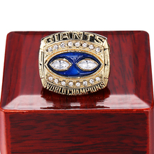 1990 For National Football League For Super Bowl New York Giants Champion Ring Rugby Champion Commemorative Ring USA Size 11(China)