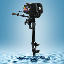Promotion Brand New 3.6HP HANGKAI 2 stroke outboard motor boat engine water cooled free dropshipping 2pcs 5% off