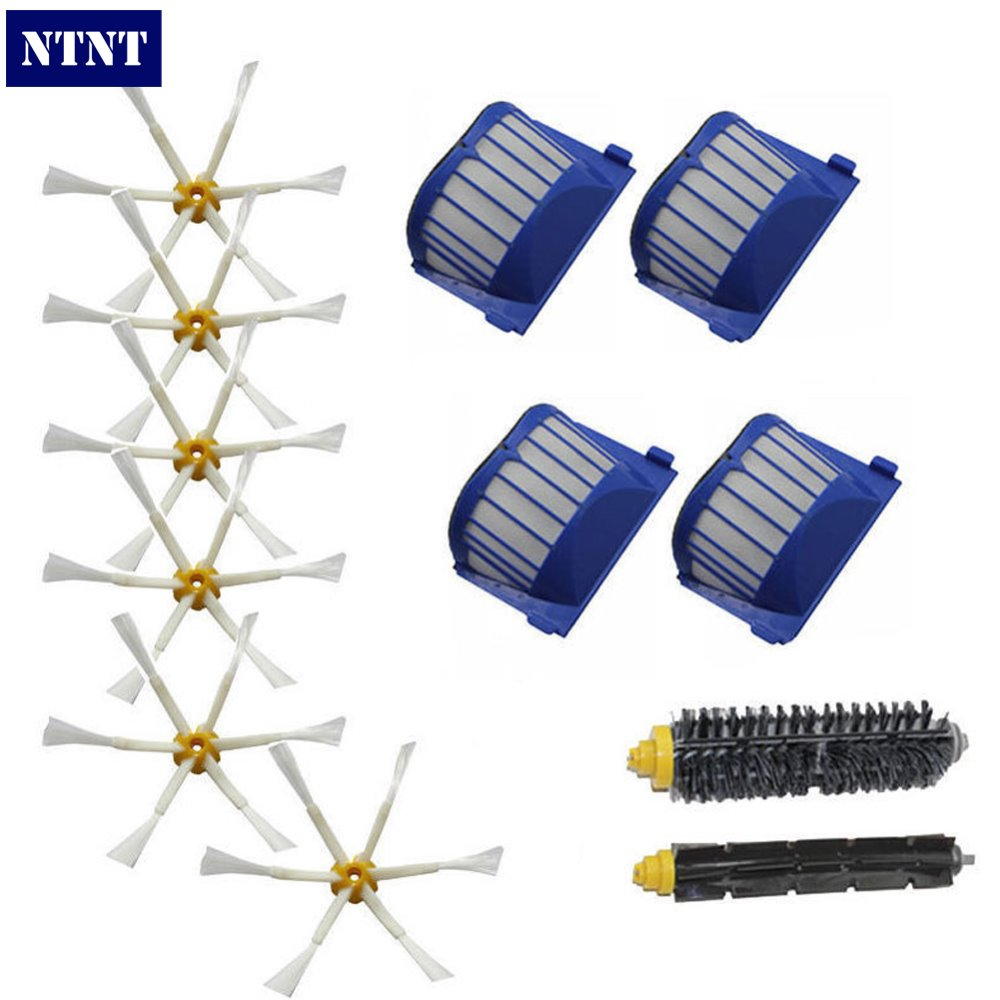 NTNT Free Post New Aero Vac Filters Brush For iRobot brush Vacuum Roomba Clean 600 Series 620 630 650 660<br><br>Aliexpress
