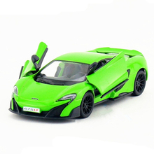 Scale 1:36 KINSMART P675LT Sports Car Toy Die cast & ABS Collectible Racing Cars Model Mini Vehicle For Boys Kids Toys Juguetes(China)