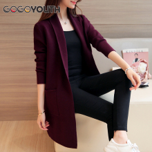 Buy Gogoyouth Long Cardigan Female 2017 Spring Autumn Fashion Long Sleeve Tricot Cardigan Women Sweater Jacket Winter Tops Coat for $17.20 in AliExpress store