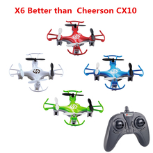 Buy X6 Mini Rc Quadcopter Headless Mode Drone Radio-control 2.4G 4CH 6Axis Nano Helicopter Drone Remote Control Toy Kid Gift for $19.99 in AliExpress store