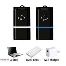USB Wireless WiFi Storage Flash Driver TF/SD Card Reader For iPhone iPad Android Smart Phone PC