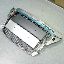 A3 RS3 Style Chrome Frame Silver Front Middle Grill Grille For Audi A3 S3 RS3 2009 2010 2011 2012