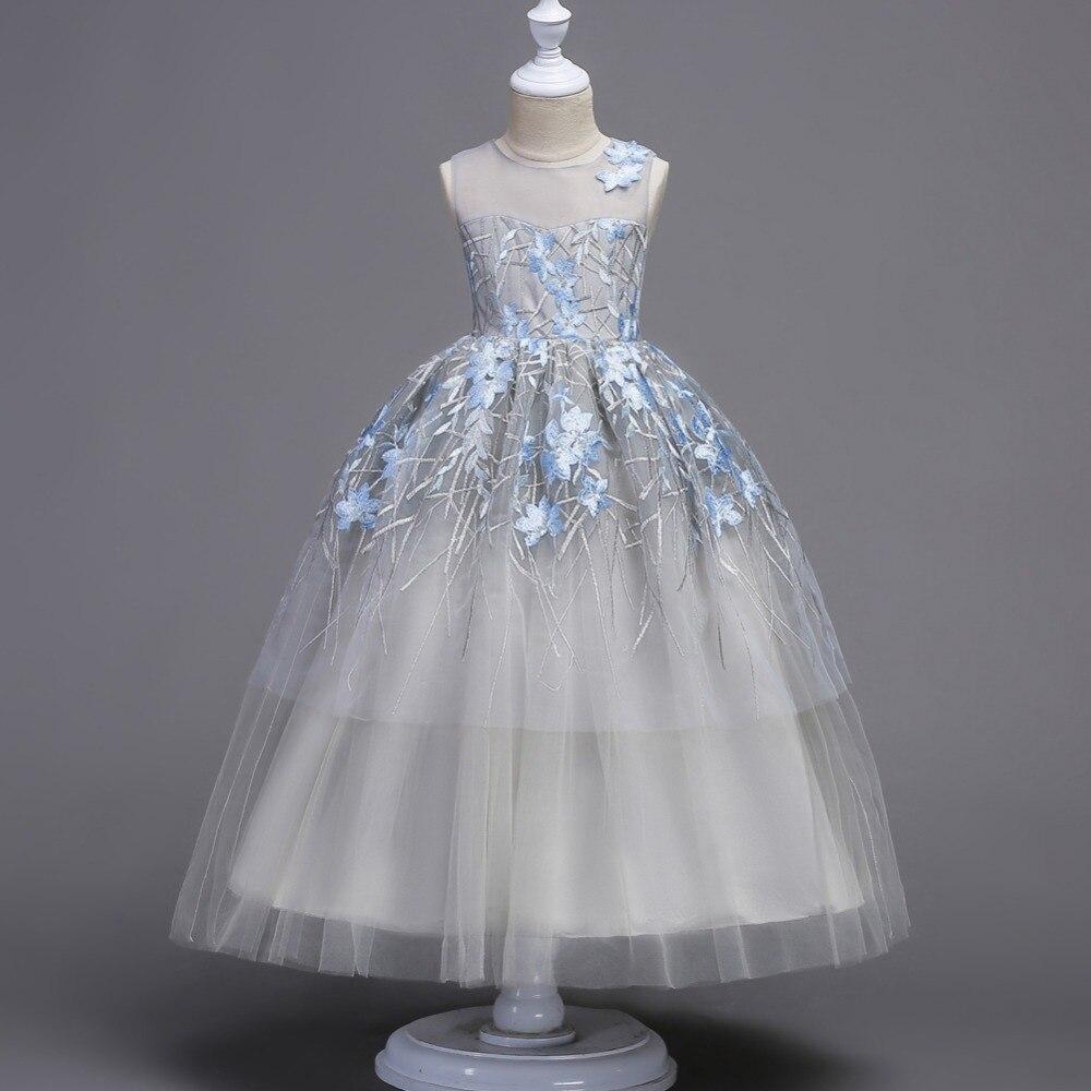Long Evening Prom Dresses For Flower Girls Wedding Party Princess Dresses Robe Fille Enfant Formal Party Pageant Dress For Girls<br>