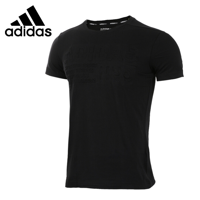 Original New Arrival 2017 Adidas  NEO Label Mens  Knitted T-shirts  short sleeve Sportswear<br>