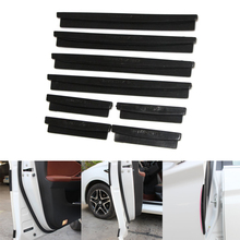 Car Sticker Door Edge Guards Trim Molding Protection Universal Strip Scratch Protector Car Crash Barriers Door Guard Collision
