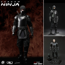 POPTOYS EX002 1/6 The Leader of Shadow Alliance Master Ninja Armor Version Box Set (In Stock) Free Shipping