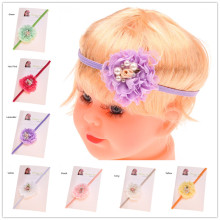 16PCS Shabby Chic headband Pearl Flower headband Photo Props Vintage Headband Hair Accessory