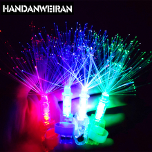 2017 NEWEST Finger Light Cool colorful laser LED Rings Party Kids Intelligent Toy for Brain Development HOT SALE & Lowest price(China)