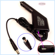 Laptop Car DC Adapter Charger Power Supply + USB Port for Dell Latitude X300 XD802 XD733 E4200 E4300 E4310 E6500