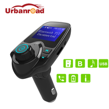Urbanroad Audio Stereo Mp3 Player Fm Transmitter Bluetooth Car Wireless Handsfree Car Kit Charger Fm Transmitter Modulator(China)