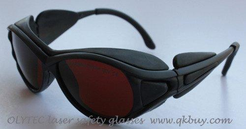 laser safety glasses 190-540nm &amp; 800-2000nm, OLY-LSG-1, CE O.D 4+, High V.L.T %<br>