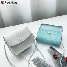 Fashion Girls Glitter Crossbody Bags Handbags Mini Shoulder Bag Casual Messenger  Bags for Women 2018(. 4 Colors Available 0c805cc44796