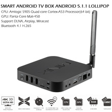 MINIX NEO U1 Android 5.1 Smart TV BOX Amlogic S905 2G/16G 2160P XBMC 4K 5G WiFi 3G Bluetooth Media Player+Keyboard Air Mouse