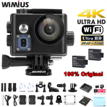 Wimius Q6/Q6 Plus WIFI 4K Action Camera Sports Helmet Cam 170D Wide Angle DVR Full HD 1080P 60FPS Go Waterproof Pro+ Accessories(China)