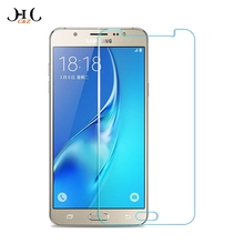 HCCZ 2.5D Tempered glass for Samsung Galaxy S7 S6 S5 S4 Mini J1 J3 J5 J7 A3 A5 A7 2016 Scratch Proof Screen protector glass film